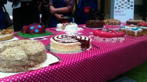 Andere taarten op de halve finale van de HEMA taartbakwedstrijd