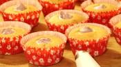 Gevulde cupcakes