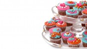 Minicupcakes in Bollywood-stijl