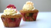 Fleurige vanillecupcakes