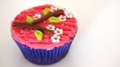 Chocoladecupcakes met Japanse uitstraling
