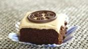 Brownies met mokkaglazuur