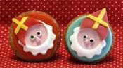 Sinterklaasjes op cupcakes