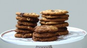 Chocolate chip cookies met hazelnoot