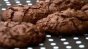 Dubbele chocoladekoekjes