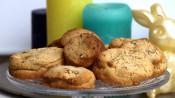 koekjes met witte chocola en pecannoten