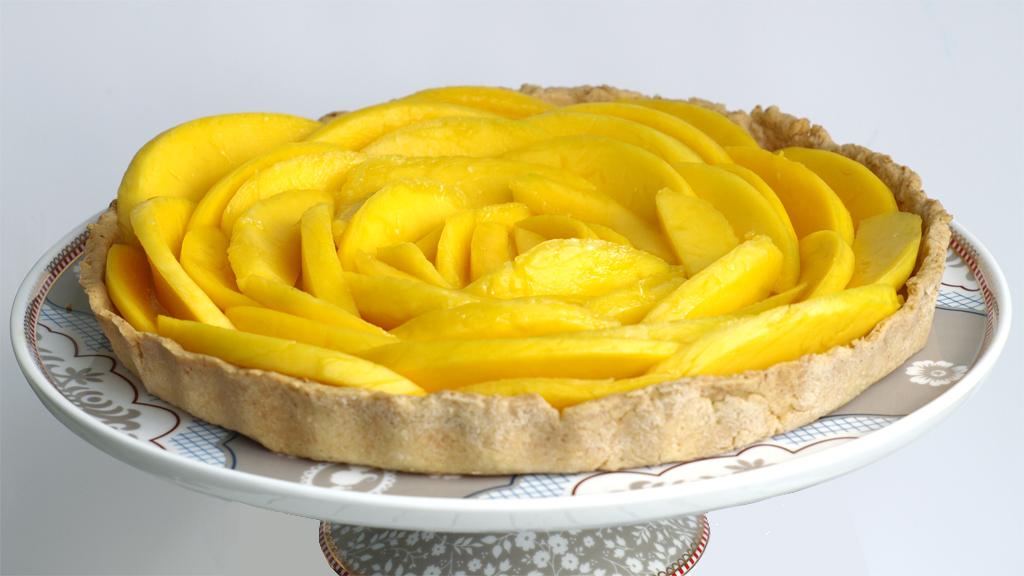 mango taart Mangotaart met sereh en kokos   Toetjes en Taarten mango taart