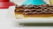 Chocolade-karamelrepen