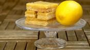Lemonbars met ook een beetje sinaasappel