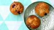 Bramenmuffins met appel